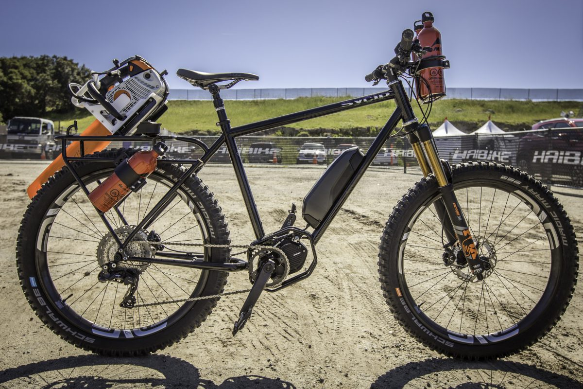 Sycip-Shimano Bike for the Trans-Cascadia Enduro