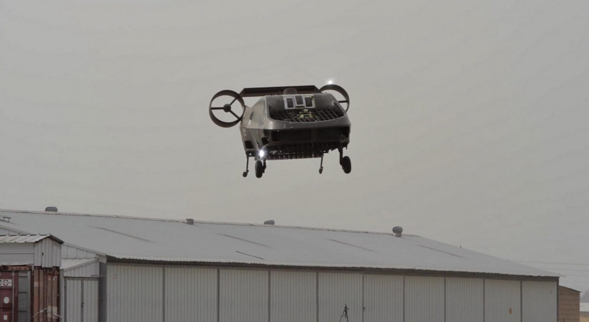 Tactical Robotics' Cormorant Unmanned Aerial System