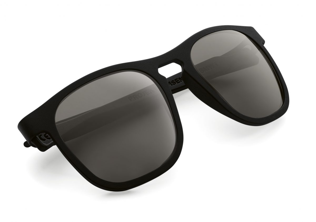 3D Printed Sunglasses from PROJEKT SAMSEN for BMWi