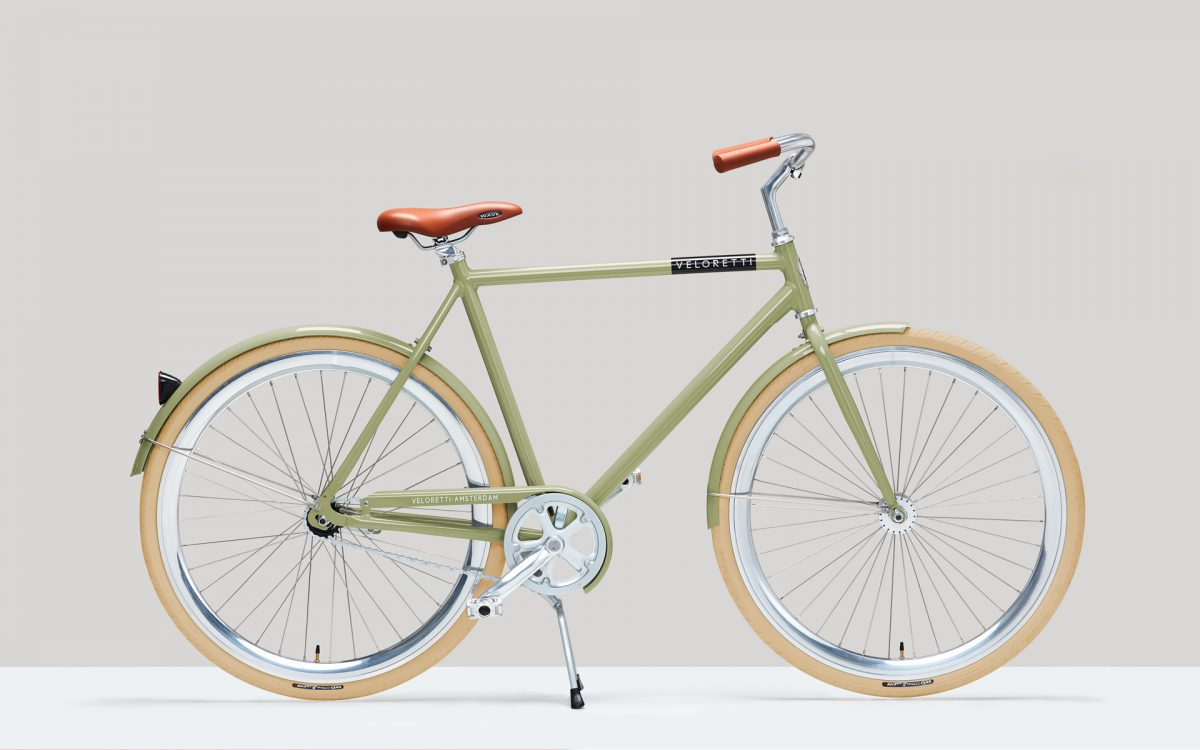 Veloretti caferacer bicycle