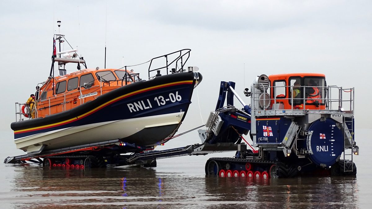 RNLI's Shannon Class Lifeboat