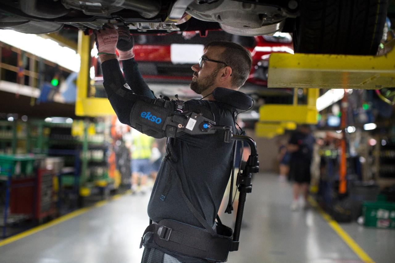 Ford and Ekso Bionics EksoVest