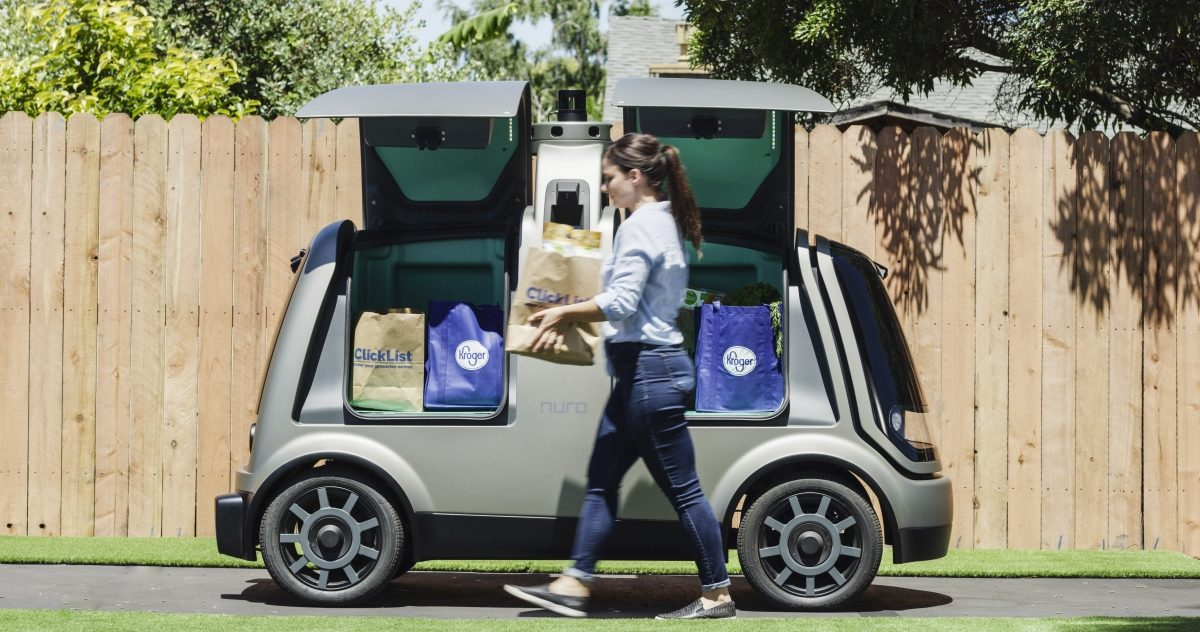Groceries Delivered by Self-Driving Cars