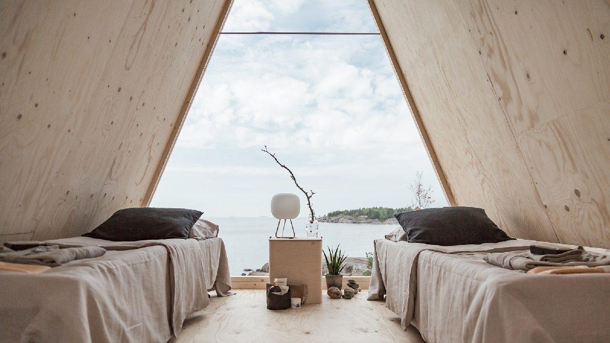 Nolla Cabin in Finland